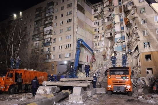 Из-под руин дома в Магнитогорске извлекли тело 22-го погибшего