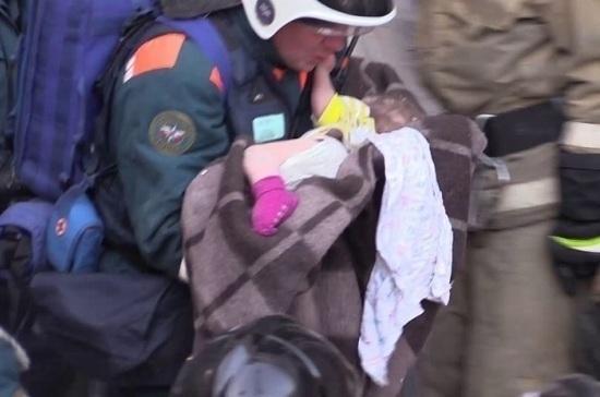 В Минздраве сообщили об улучшении состояния спасённого в Магнитогорске младенца