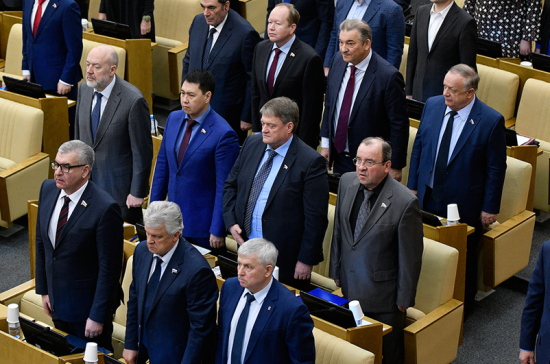 Депутаты почтили минутой молчания память Анатолия Лукьянова
