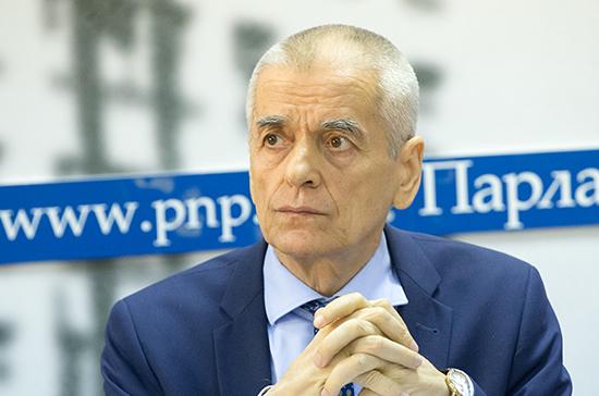 Онищенко призвал не искать виновных в аварии на Канале имени Москвы до заключения экспертов