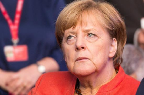 В Греции прошла акция протеста против визита Меркель