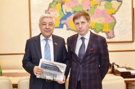 «Парламентская газета» пришла в Татарстан