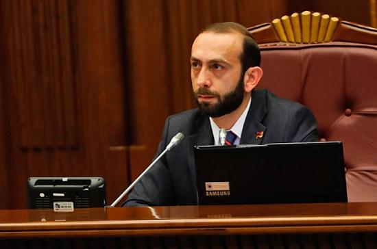 Спикером парламента Армении избран Арарат Мирзоян