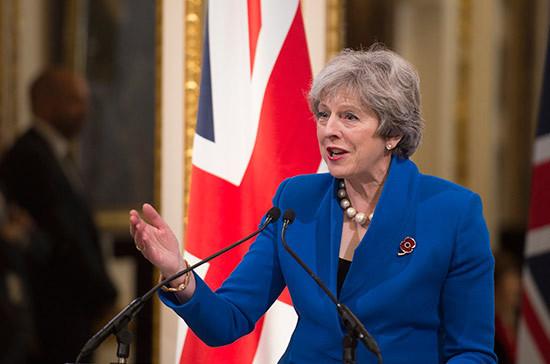 В Великобритании инициировали вотум недоверия правительству Мэй