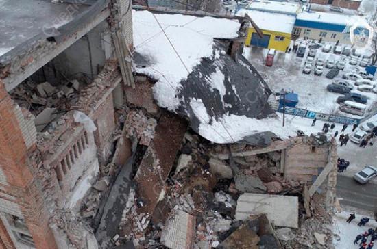 Число погибших при обрушении дома в Шахтах выросло до четырёх