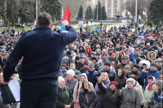 Организаторов  митингов обяжут указывать причины их проведения