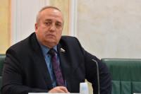 Клинцевич открыл в Совфеде выставку «Смоленская стена»