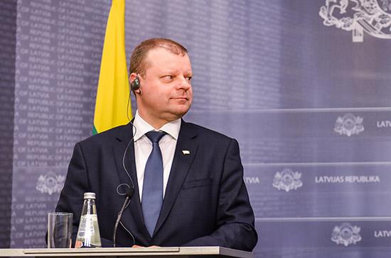 Литовский премьер примет участие в президентских выборах
