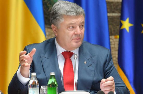 Порошенко заявил о верном курсе Украины на пути к членству в НАТО
