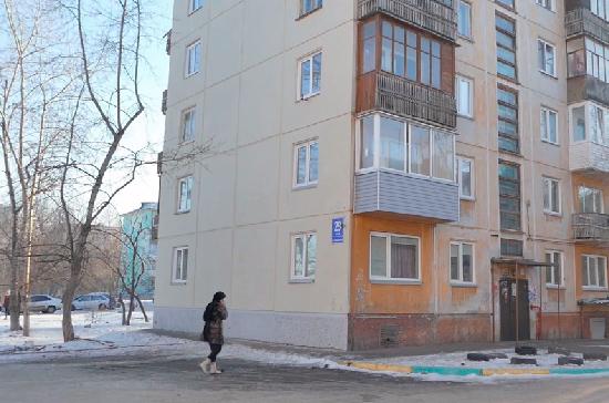 В Красноярске обновили фасады многоэтажек, сообщили СМИ