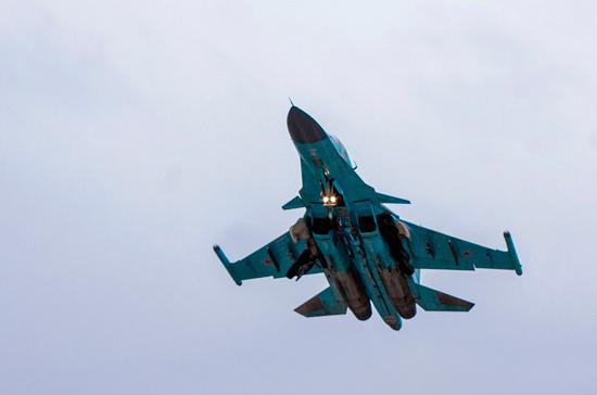 На Дальнем Востоке нашли тело пилота разбившегося Су-34