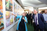 Выставка исторических картин крымских школьников путешествует по России