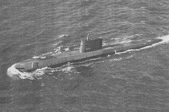 «Наутилус» стал первой атомной подводной лодкой