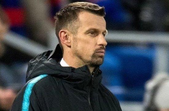 Главный тренер «Зенита» ответил на вопрос о дальнейшей судьбе Кокорина в клубе