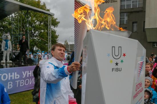 Этап эстафеты огня Универсиады-2019 пройдёт в Норильске 22 января