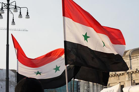 Эксперт: политический процесс в Сирии идёт благодаря усилиям России
