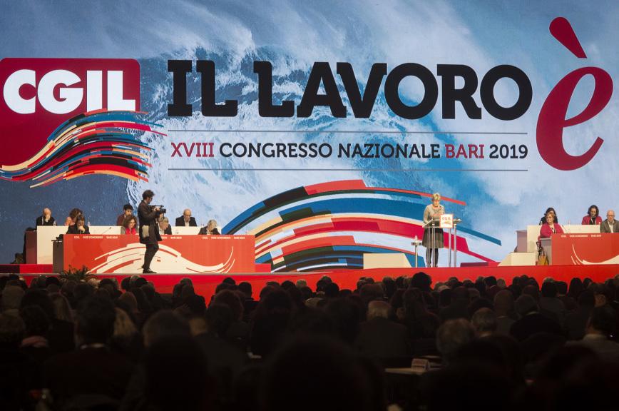 В Бари открылся съезд Всеобщей итальянской конфедерации труда