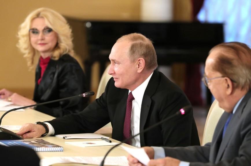 Путин пообещал поддержать реализацию проекта по исследованию мозга