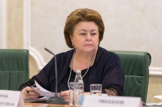 Драгункина призвала «перезагрузить» систему воспитания молодёжи
