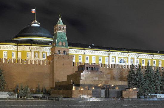 Мавзолей Ленина не сразу строился…