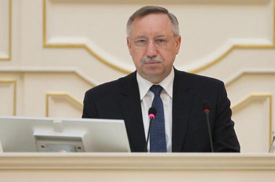 Метро в Петербурге должна строить принадлежащая городу компания, уверен Беглов