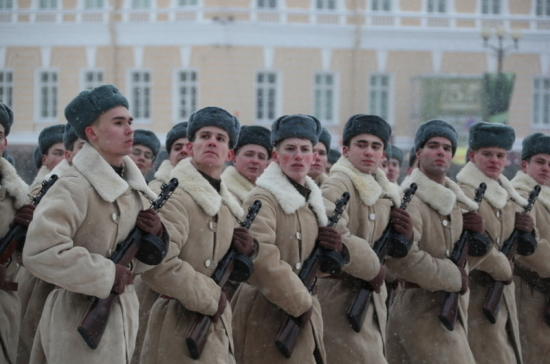 Петербург вспомнил павших в блокаду