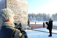 Путин почтил память павших во время блокады Ленинграда