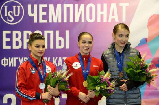 Российские фигуристы заняли второе место в зачёте чемпионата Европы