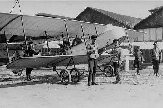 Увлечение авиацией в России пропагандировал сам император