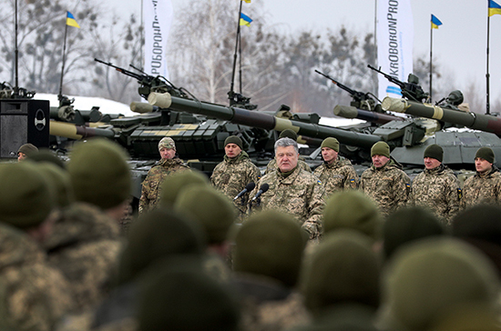 Порошенко заявил, что Украине необходим «холодный мир» с Россией