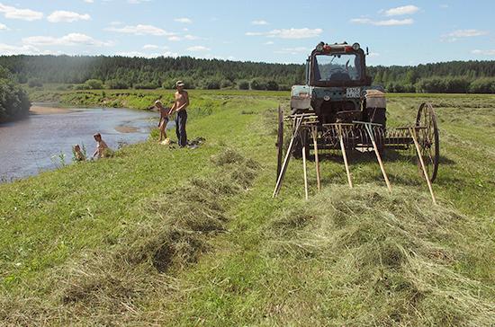 В России простимулируют производство сельхозтехники