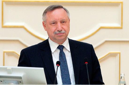 Беглов назвал приоритетные направления в развитии Петербурга
