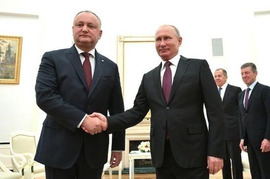Путин обсудит с Додоном сотрудничество в экономической и гуманитарной сферах