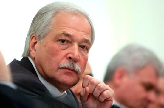 Грызлов рассказал об «истеричном» поведении Киева на переговорах по Донбассу