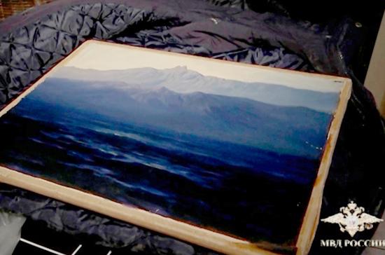 Картина Куинджи вернулась на выставку в Третьяковке после похищения