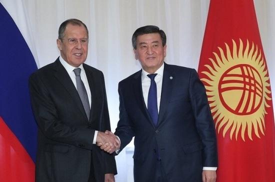 Лавров: Россия готова обсуждать с Киргизией открытие новой военной базы