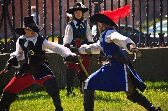 Мушкетёры не имели право драться на дуэли