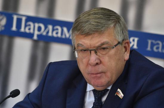 Освобождение граждан от поверок счётчиков поможет в борьбе с мошенниками, считает Рязанский