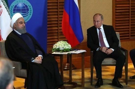 Посол России рассказал, что обсудят Путин и Роухани в Сочи