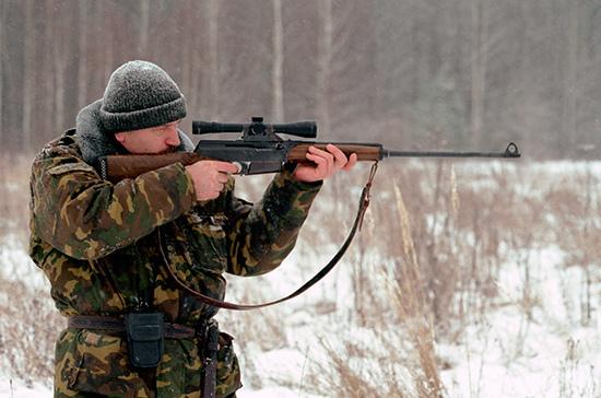 Комитет Госдумы рекомендовал принять законопроект о повышении возраста покупки оружия