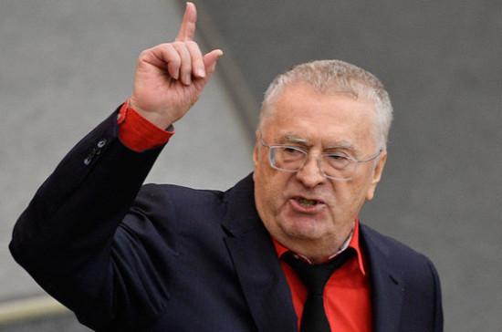 Жириновский предложил проверить эпидемиологическую обстановку в Госдуме