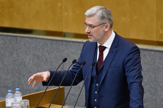 Дитрих отметил важность законопроекта о платных дорогах на Крайнем Севере