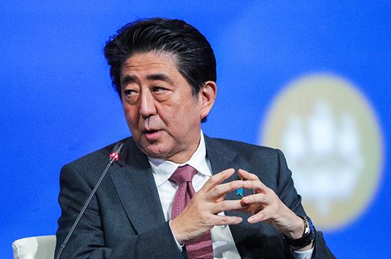 Абэ: Япония продолжит переговоры по мирному договору с Россией
