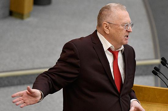 Жириновский: спасайте людей, а не медведей