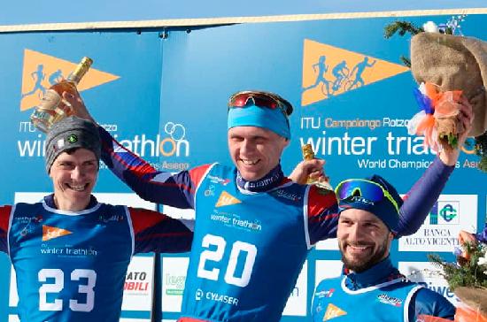 Красноярский спортсмен стал семикратным чемпионом мира по зимнему триатлону