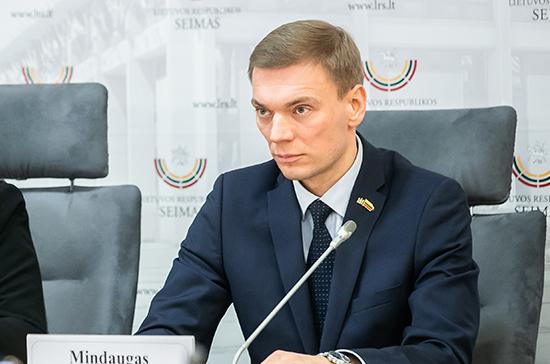 Из фракции литовской партии исключили депутата, объявившего о желании стать президентом