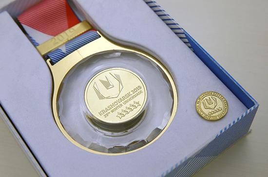 Награды универсиады будут с сибирским колоритом