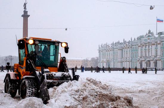 Петербург сменит стратегию уборки снега