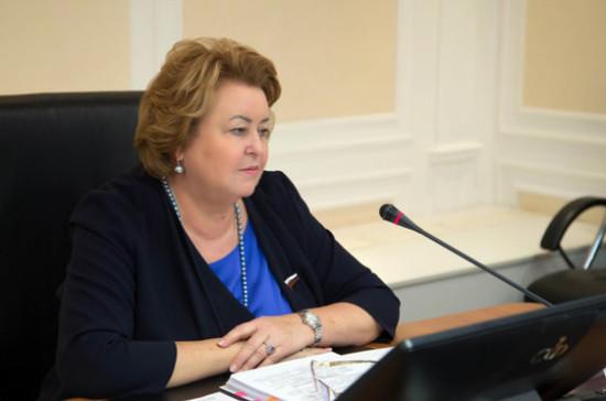 Драгункина назвала основные направления работы Комитета Совфеда по науке, образованию и культуре