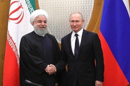 Путин принёс Роухани соболезнования в связи с терактом в Иране